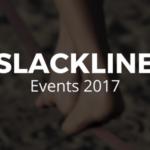 Slackline Events 2017