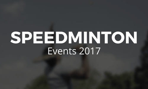Speedminton Events 2017
