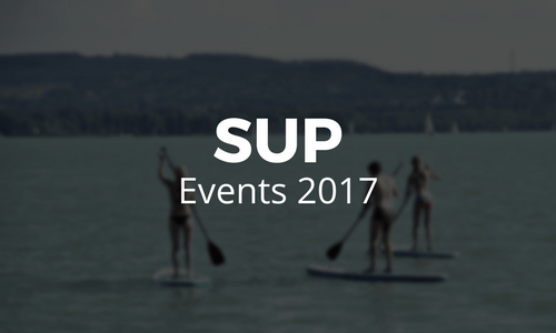 Stand Up Paddle Events 2017