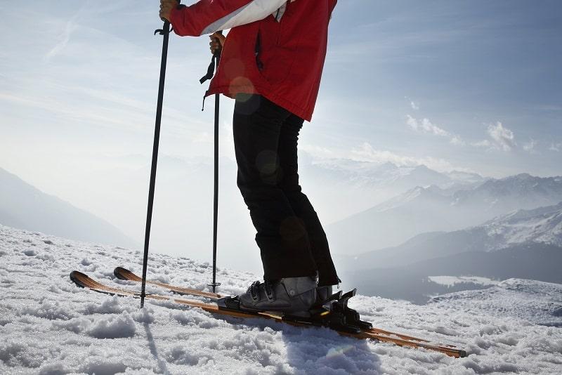 bef/üllbare Skist/öcke KOMPERDELL Alpine Schnapsstock