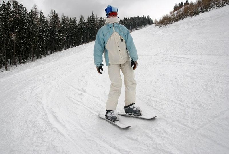 Snowblades mit Sicherheitsbindung Vergleich