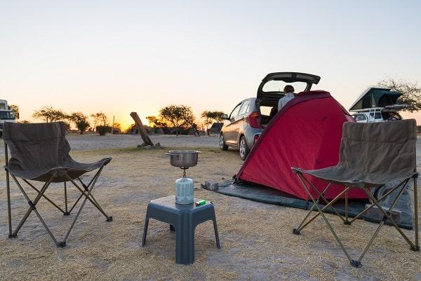 Camping Klappstuhl blau//weiss Stuhl Festival Atmungsaktivem 600D Polyester Bezug