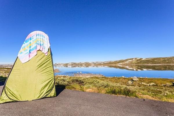 Die besten Campingduschen